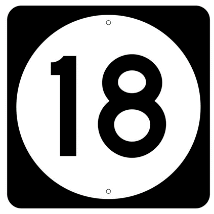 State Route Marker Sign - U.S. Signs and Safety