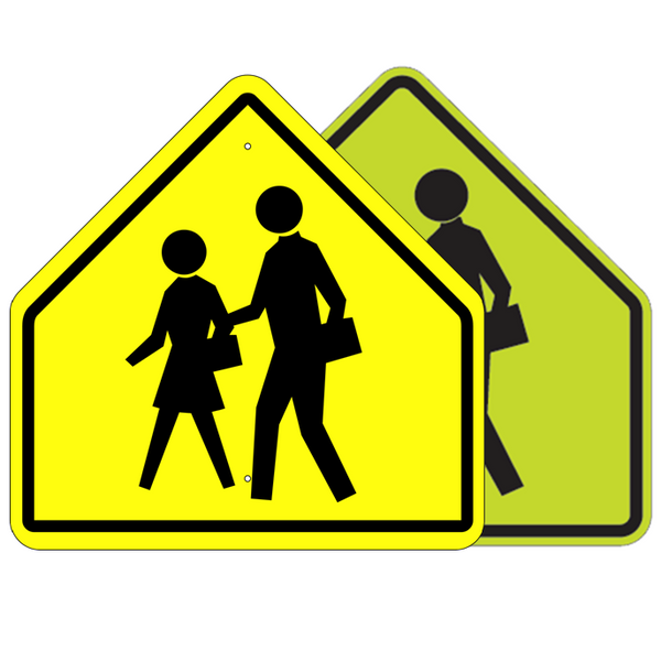 School Advance Symbol Sign - U.S. Signs and Safety - 1