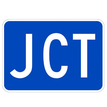 JCT Route Marker Sign - U.S. Signs and Safety - 1
