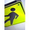 Pedestrian Crossing - Solar Flashing LED Pedestrian Crossing Sign - U.S. Signs and Safety - 3