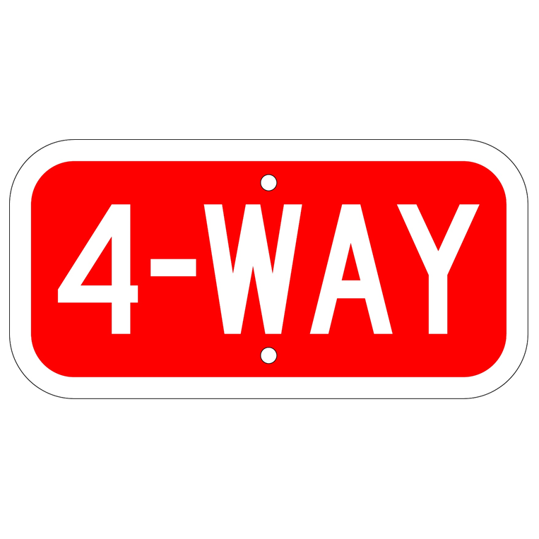 4-Way Sign - U.S. Signs and Safety