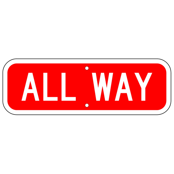 All-Way Sign - U.S. Signs and Safety