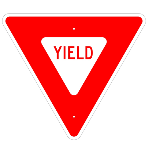 Yield Sign, MUTCD R1-2 - U.S. Signs and Safety