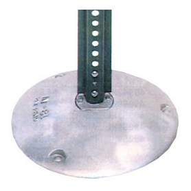 Surface Mount Sign Post Base - U.S. Signs and Safety