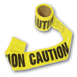 Caution Tape - U.S. Signs and Safety