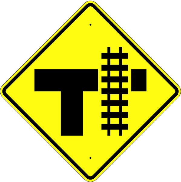 Railroad Crossing Intersection Symbol Sign - U.S. Signs and Safety