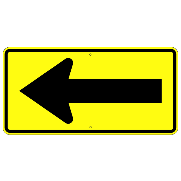 Single Arrow Symbol Sign - U.S. Signs and Safety