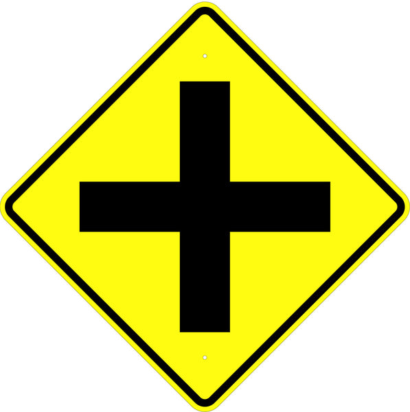Crossroad Symbol Sign - U.S. Signs and Safety