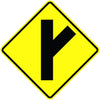 Side Road Oblique Sign - U.S. Signs and Safety - 2