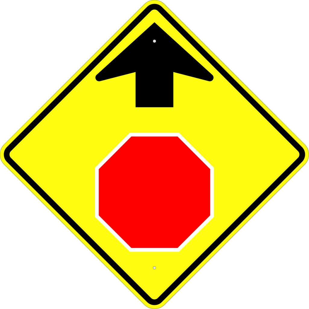 Stop Ahead Symbol Sign - U.S. Signs and Safety