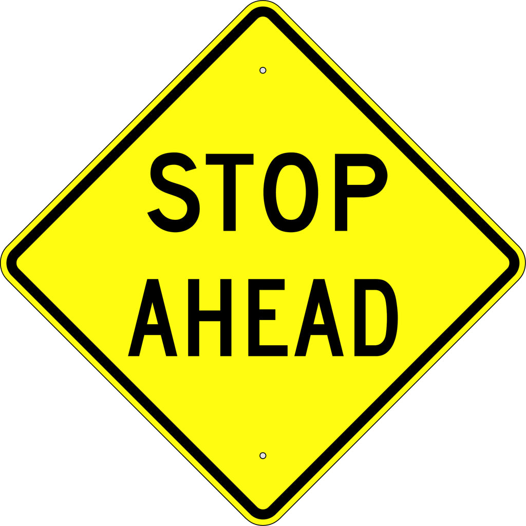 Stop Ahead Sign - U.S. Signs and Safety