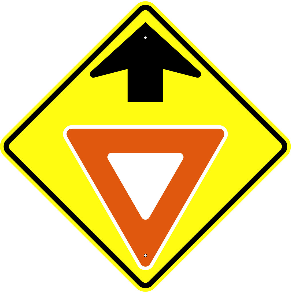 Yield Ahead Symbol Sign - U.S. Signs and Safety
