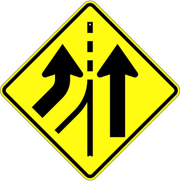 Added Lane Symbol Sign - U.S. Signs and Safety - 1