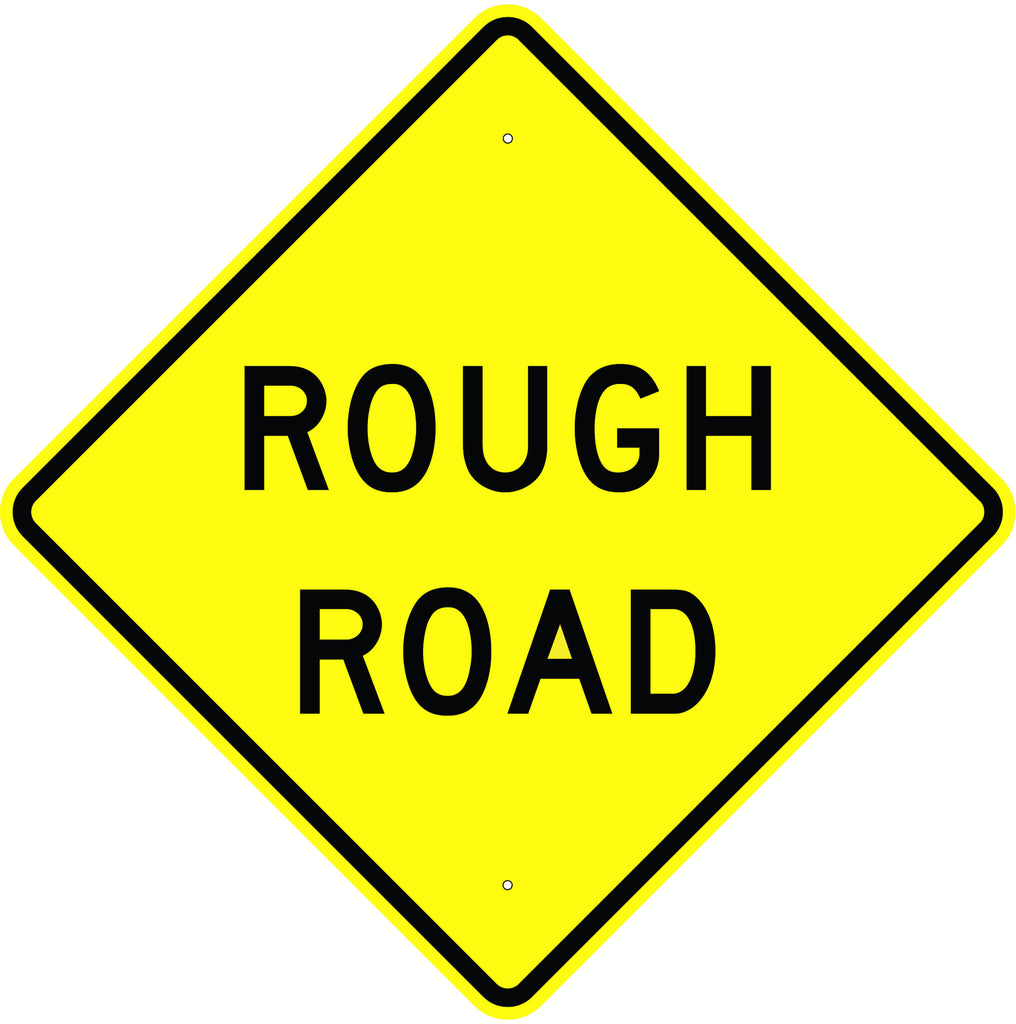Rough Road Sign - U.S. Signs and Safety