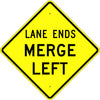 Lane Ends Merge Sign - U.S. Signs and Safety - 1