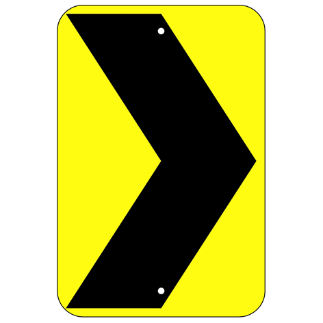 Chevron Symbol Sign - U.S. Signs and Safety