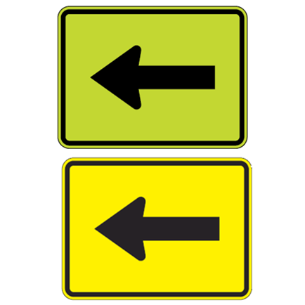Left Or Right Arrow Symbol Sign - U.S. Signs and Safety - 1