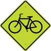 Bicycle Crossing Symbol Sign - U.S. Signs and Safety - 3