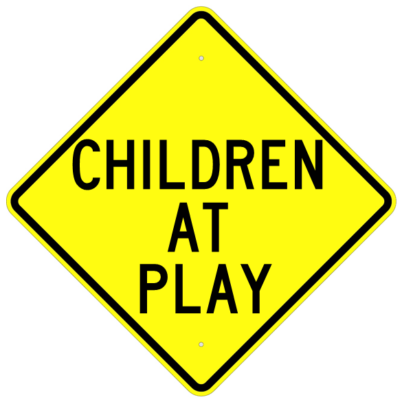 Children At Play Sign - U.S. Signs and Safety