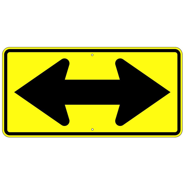 Double Arrow Symbol Sign - U.S. Signs and Safety