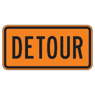 Detour Sign - U.S. Signs and Safety