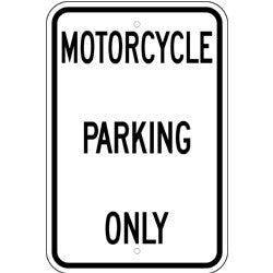 Motorcycle Parking Only, 12