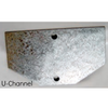 Galvanized Anchor Plate - U.S. Signs and Safety - 2