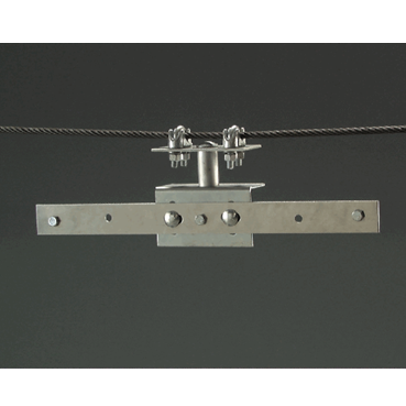 Overhead Span Wire Bracket - U.S. Signs and Safety