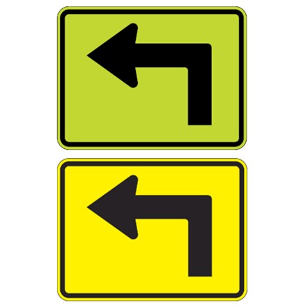 Left Arrow Symbol Sign - U.S. Signs and Safety - 1