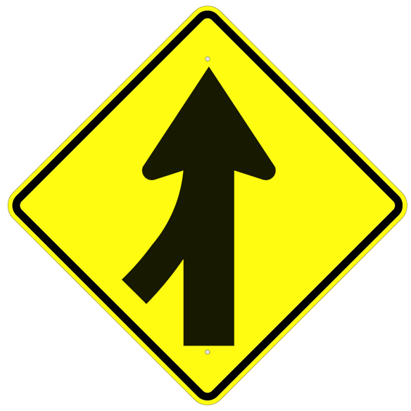 Merge Symbol Sign - U.S. Signs and Safety - 1