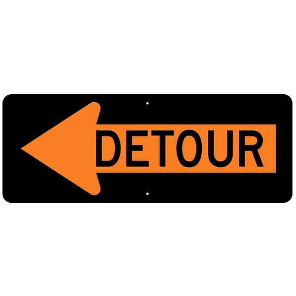 Detour Arrow Sign - U.S. Signs and Safety - 1