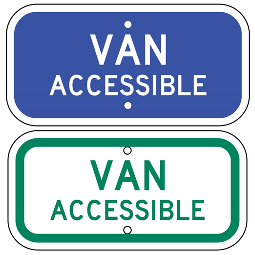 Van Accessible Sign - U.S. Signs and Safety - 1