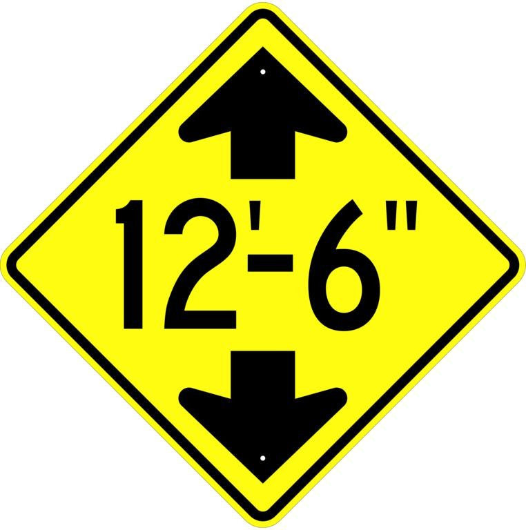 Clearance Height Sign - U.S. Signs and Safety
