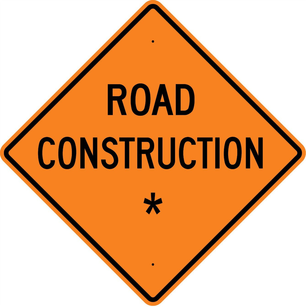 Road Construction * Roll Up Sign - U.S. Signs and Safety - 1