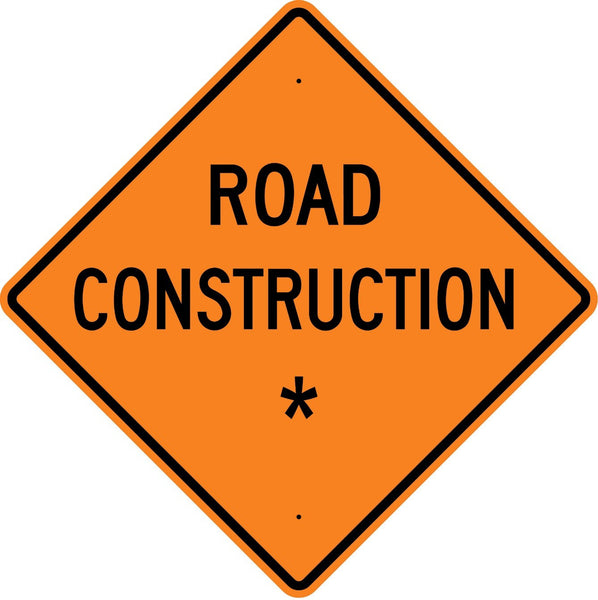 Road Construction * Sign - U.S. Signs and Safety
