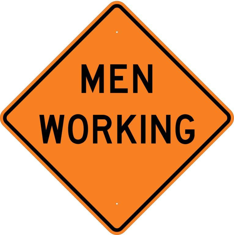 Men Working Sign - U.S. Signs and Safety