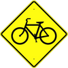 Bicycle Crossing Symbol Sign - U.S. Signs and Safety - 2