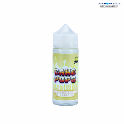 Cake Pops White Chocolate Macadamia High VG Ejuice By MF Vapes Co | Vapor Widgets