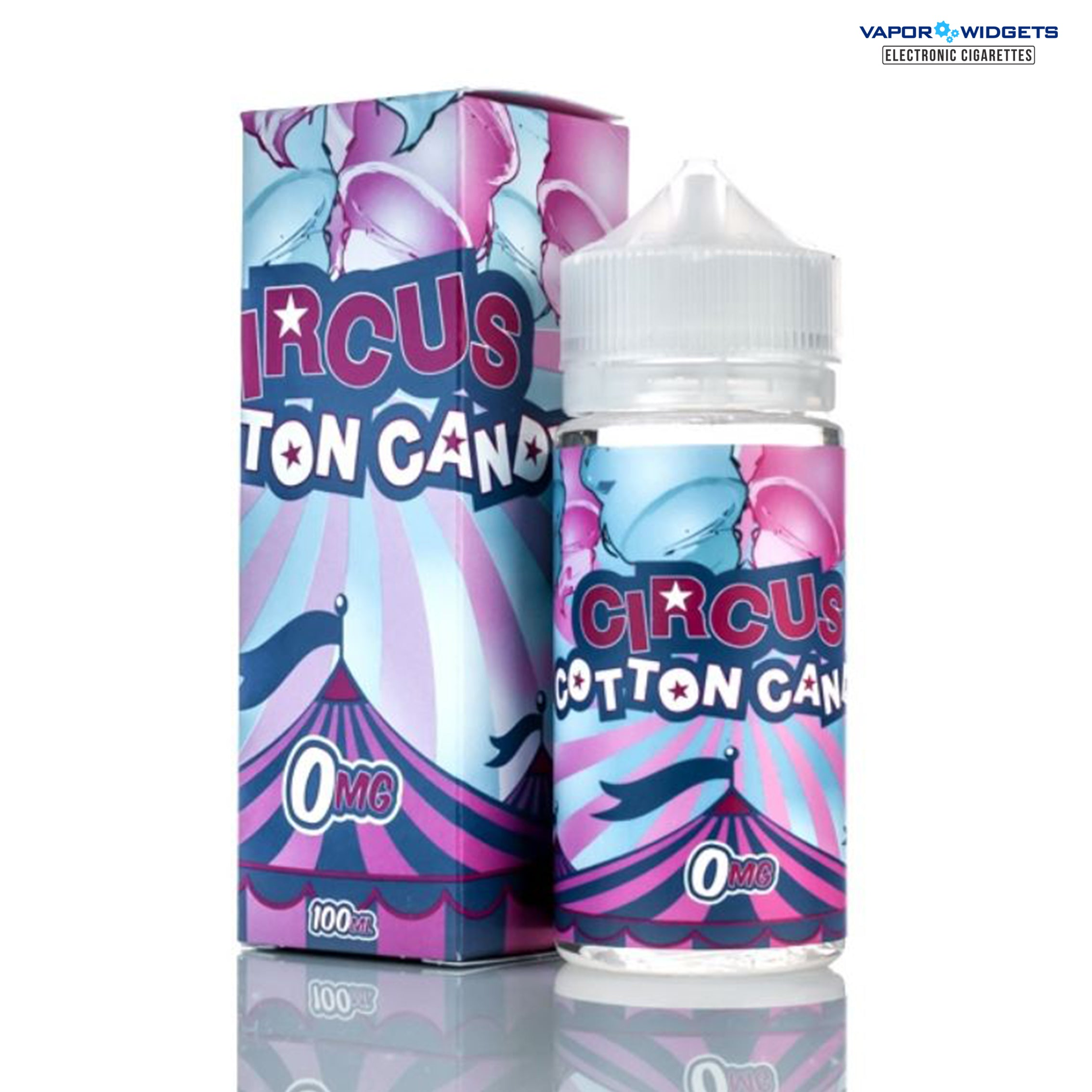 Circus Cookie Cotton Candy High VG E-Liquid | Vapor Widgets