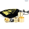 Authentic 528 Custom Vapors Goon RDA Brass | Vapor Widgets