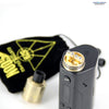 Authentic 528 Custom Vapors Goon RDA Brass and Wismec Reuleaux RX200 Box MOD | Vapor Widgets