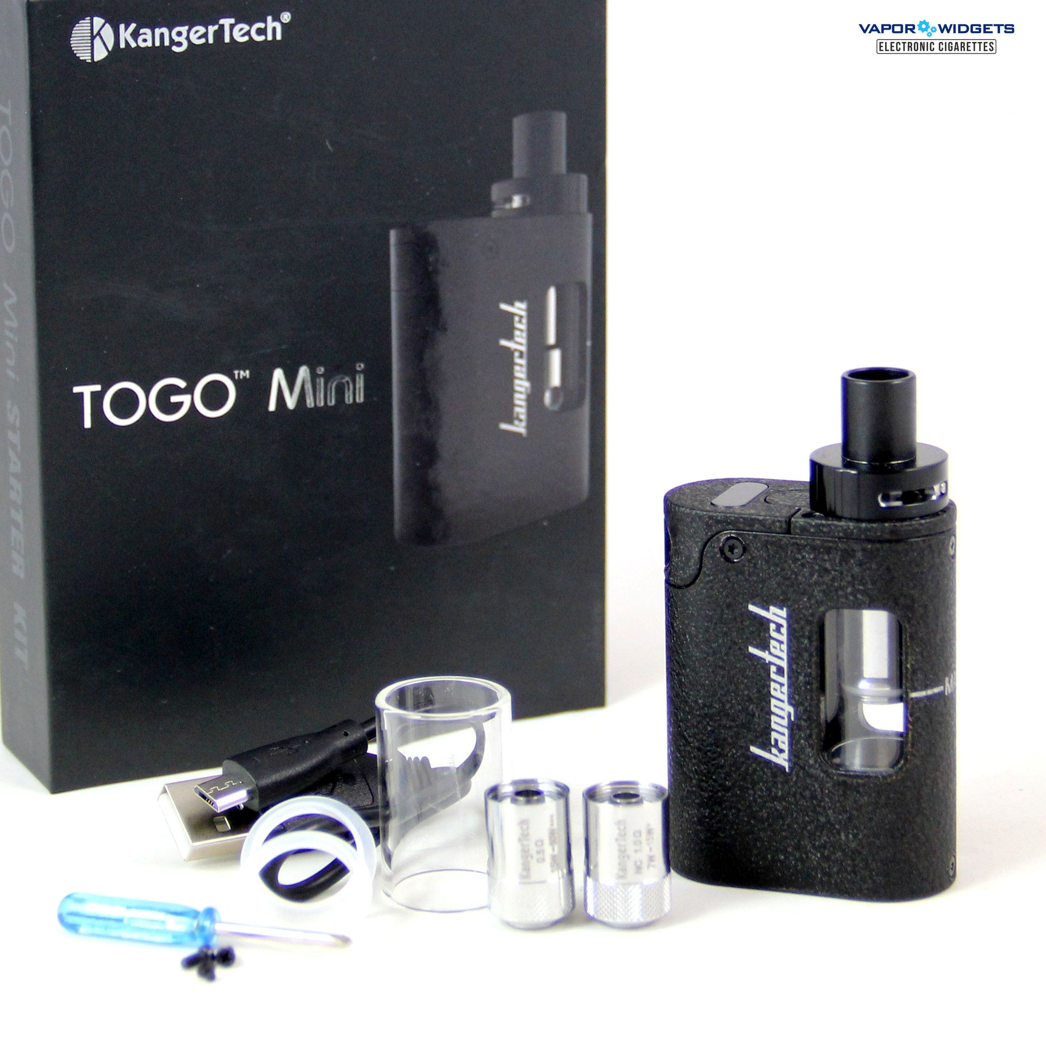 Kanger TOGO Mini starter kit Black | Vapor Widgets