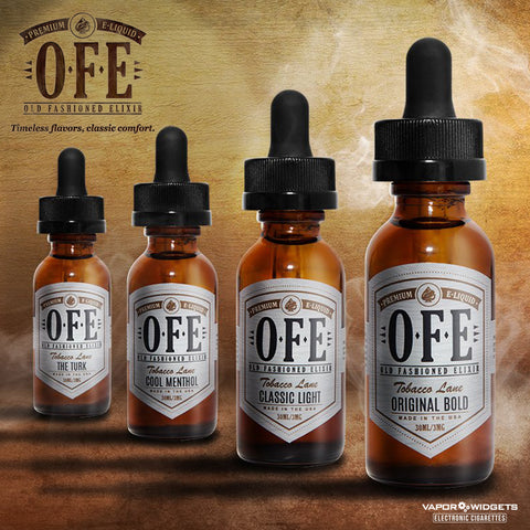 Classic Light E-Juice by Old Fashion Elixir OFE Vape | vapor widgets