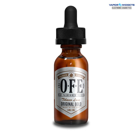 Original Bold E-Liquid by Old Fashion Elixir OFE Vape | vapor widgets