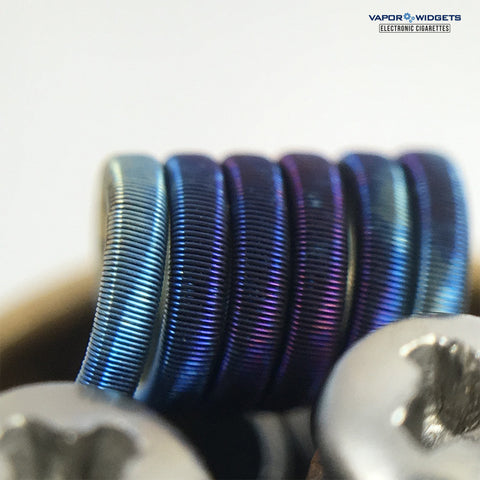 Handcrafted Fused Clapton Ni80 SubOhmTronics | Vapor Widgets