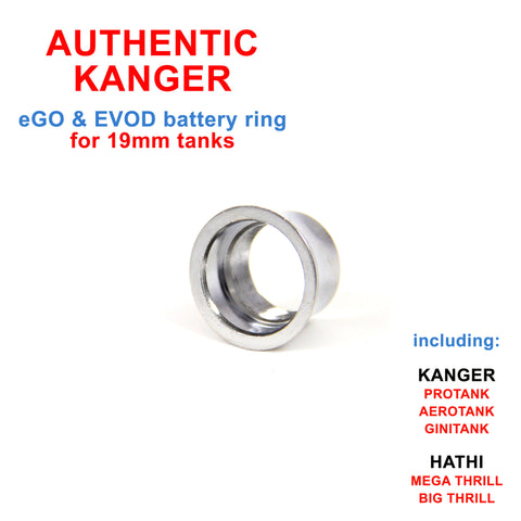 Authentic Kanger 19mm Vape Tank Collar Ring | Vapor Widgets