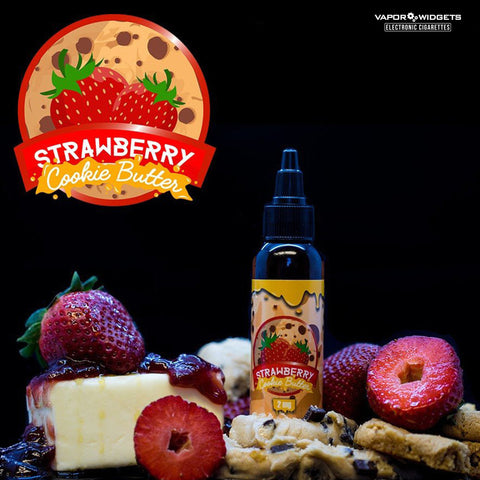 Strawberry Cookie Butter Max VG Vape Juice By Vape Treats E-juices | Vapor Widgets