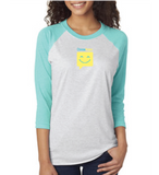 ChooseHappy Baseball Tee