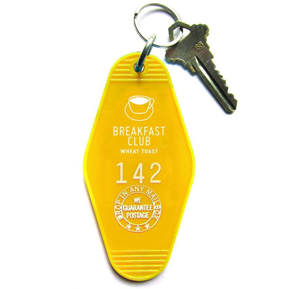 Breakfast Club Key Tag