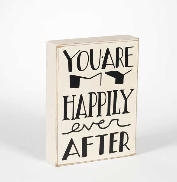 Ever After Box Sign